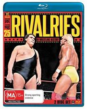 WWE The Top 25 Rivalries Blu-Ray Disc Dvd New AUS
