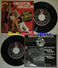 LP 45 7'' LOU AND THE HOLLYWOOD BANANAS Kingston 1979 germany HANSA cd mc dvd