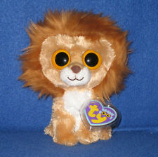 "TY BEANIE BOOS BOO'S - KING the 6"" LION - MINT with NEAR PERFECT TAG"