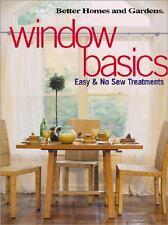 Window Basics : Easy and No Sew Treatments by Linda Hallam (2002, Paperback)