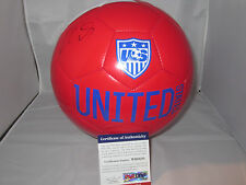 MICHAEL BRADLEY SIGNED NIKE TEAM USA SOCCER BALL PSA/DNA W60430 2014 WORLD CUP