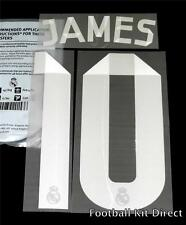 Real Madrid James 10 La Liga Football Shirt Name/Number Set 2014/15 Away