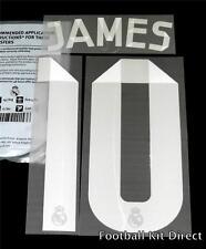 Real Madrid James 10 La Liga Football Shirt Name/Number Set 2014/15 Away