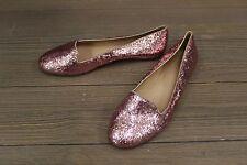 Kate Spade, Pink Glitter, Women's Slip On Shoes,  US 8.5M