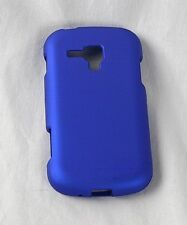 For Samsung Galaxy Amp i407 Rubberized HARD Protector Case Phone Cover Blue