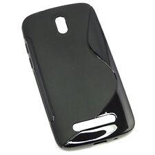 HTC Desire 500 Black S-Line Gel Case
