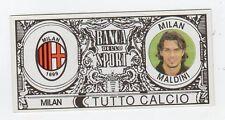 figurina BANCA DELLO SPORT TUTTO CALCIO 2007/2008 MILAN MALDINI