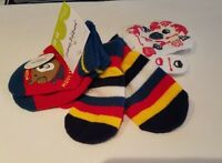 Toddler Boys Girls Jumping Beans Brand 3 Pair Mittens Various Colors Size 2T-4T