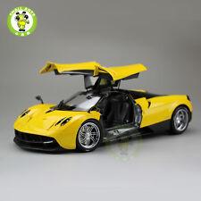 1:18 Pagani Huayra Diecast Supercar Sport Car Model Welly GTAutos 11007 Yellow