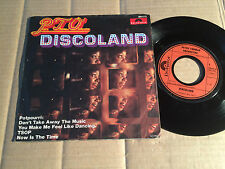"""PETER THOMAS ORCHESTRA - DISCOLAND - 7"""" SINGLE - POLYDOR 2801 021 - GERMANY (12)"""
