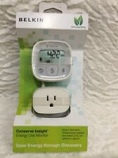 BELKIN Conserve Insight Save Energy Use Monitor F7C005 NEW