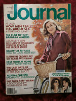 Ladies Home Journal October 1977 Barbara Walters Jacqueline Bisset Arnold Palmer