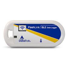 DeltaTrak 40900 FlashLink BLE Bluetooth Low Energy Reusable Temp. Data Logger