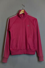 Fred Perry Pink casual track jacket, with zip-pull closure, pockets an