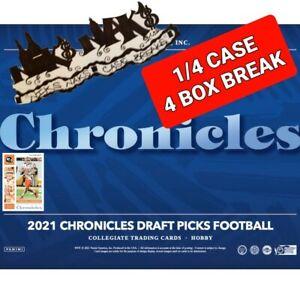 BUFFALO BILLS 2021 CHRONICLES DRAFT FOOTBALL 1/4 CASE 4 BOX BREAK #19