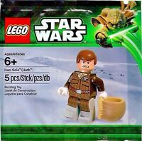 LEGO STAR WARS HAN SOLO(HOTH) 5pcs/pzs MINIFIGURE Build Toy POLYBAG, NEW SEALED