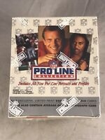 1992 NFL PRO LINE COLLECTION FOOTBALL CARDS FACTORY SEALED BOX PORTRAITS MONTANA