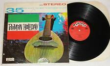 CARLO MONTI & CASA ROMA ORCHESTRA Roman Holiday LP Vinyl World Music 1964 * RARE