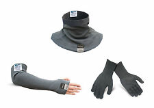 "Kevlar® Cut Resistance Neck Protector, 18"" Sleeve & Cut4 Glove"