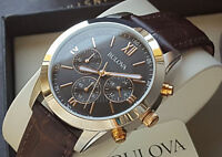 Orologio Cronografo Uomo Bulova 98A142 Men's Chrono Watch Movement Miyota €.269
