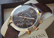Orologio Cronografo Uomo Bulova 98A142 Men's Chrono Watch Movement Miyota €.269