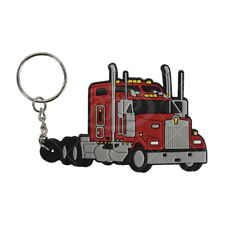Red Kenworth W900L Keychain # 13882