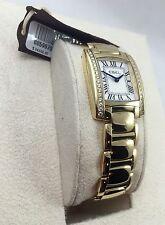 EBEL Brasilia Solid 18K Yellow Gold & Diamond SWISS Watch NEW! $24500