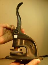 New listing Late 1800s Maricopa Mica Mining Antique Cast Iron Document Stamp +Stock Arizona