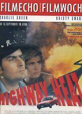 filmecho filmwoche Nr. 32 (1994) Highway Heat Charlie Sheen Ancora Cup Kino Film