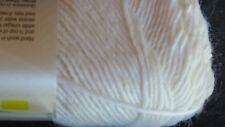 "1 Brown Sheep ""LAMB'S PRIDE"" Worsted Knit or Crochet Yarn#M-11 White Frost"
