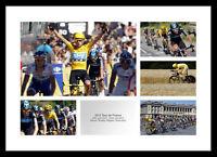 2012 Tour de France Bradley Wiggins & Team Sky Photo Memorabilia (TDFMU5)