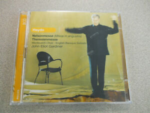 HAYDN Nelson Mass Theresienmesse GARDINER Monteverdi Choir ENGLISH BAROQUE 2 CDs