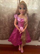"✨ Disney Princess Playdate My Size Rapunzel Doll 32"" Tall Tangled ✨"