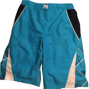 OP OCEAN PACIFIC Blue Boy's SWIM TRUNKS, Size XXL (18)