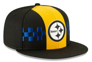 PITTSBURGH STEELERS NEW ERA HAT 59FIFTY FITTED CITY FLAG NFL FOOTBALL CAP