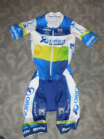 Santini Team Orica Scott Sprint Suit Aero Zeitfahranzug / Road Sprint Skinsuit