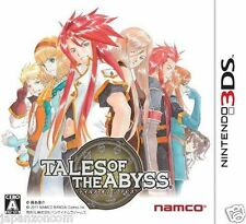 Used 3DS Tales of the Abyss NAMCO  NINTENDO 3DS JAPANESE  IMPORT