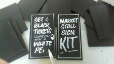 Market stall / Trader / shop / Farm shop / Car boot sale DIY sign pricing kit.