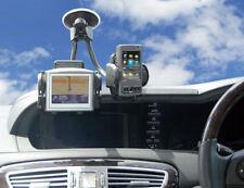 Universal Twin Dual Car Holder Windscreen Mount PDA GPS Sat Mobile Navigation
