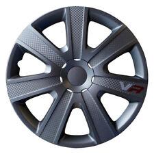 """Ford Radkappen Set 14"""" Zoll 4 Stück Radzierblenden VR Carbon/Anthrazit Radblende"""