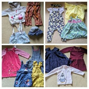 Girls Clothing Bundle 12 to 18 Months Next Cos Mothercare Mamas & Papas Humphrey