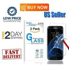 2-Pack Tempered Glass Screen Protector 3D 9H Hardness for Samsung Galaxy S7 New
