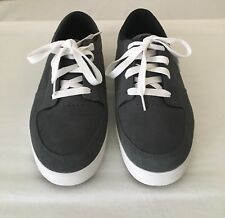 Osiris Duffel VLC Size 11 Shoes Mens Gray Suede Lace Up Sneakers