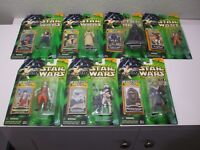 VTG STAR WARS POWER OF THE JEDI Darth Vader  Luke Han Solo ACTION FIGURE LOT 7