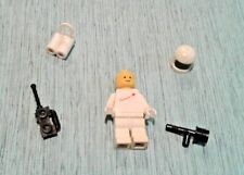 LEGO Minifig sp006 Space White w/ tools NO PRONGS Torso Figure 928 6970 926 6901