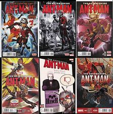 Ant-Man Last Days,Astonishing Ant-Man 1,2,3,4,5-Straight Run With Digital Codes