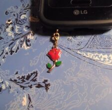 Rose Gold Cell Phone Clip Charm~Dust Cover~All Phones~$1 SHIP
