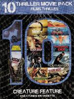 Creature Feature: 10 Thriller Movie Pack (Pira New DVD