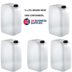 10L or 25L Plastic Water Storage/Container/Food Safe/Petrol Jerry Can,BRAND NEW!
