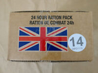 Menue #14 GB ARMY 24 Hour Combat Ration MRE EPA SURVIVAL Notration Verpflegung